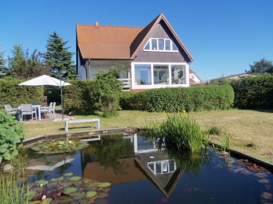 Schönes Ferienhaus am Peeneufer auf Usedom