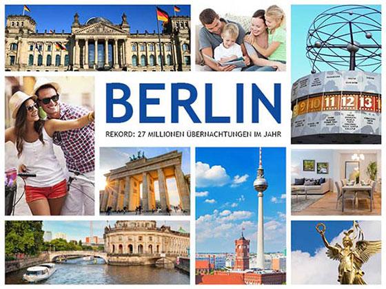 Sehenswürdigkeiten und Menschen in Berlin