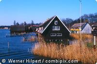 Bootshäuser in der Müritz - Mecklenburg-Vorpommern