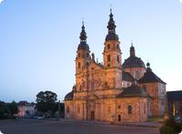 Dom St. Salvator zu Fulda im Fuldaer Barockviertel - Hessen