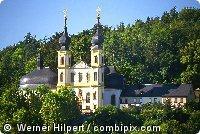 Blick auf die Kapelle in Würzburg am Main in Franken - Bayern