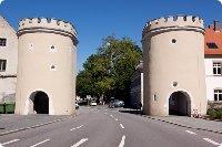 Jakobstor in Regensburg - Bayern