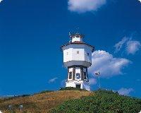 Ausflug von dem Ferienhaus zum Wasserturm auf Langeoog - Ostfriesischen Insel - Niedersachsen