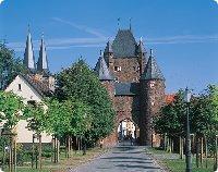 Klever Tor und Dom in Xanten - Nordrhein-Westfalen