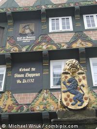 historische Altstadt Celle in Niedersachsen