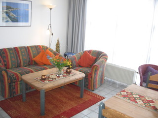 Ferienwohnung Stötera Wohnzimmer