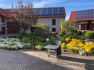Ferienwohnung im Herzen vonThüringen Innenhof