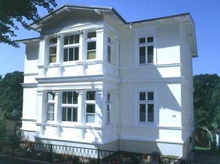 Heringsdorf - Villa Lindemann W4 Außenansicht