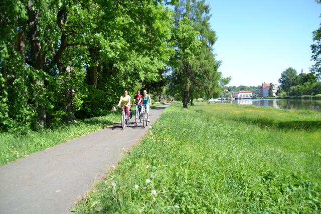 Radweg Guben