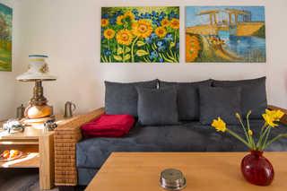 Ferienwohnung Rustika I Wohnzimmer