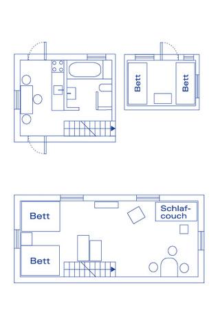 Grundriss Gästehaus