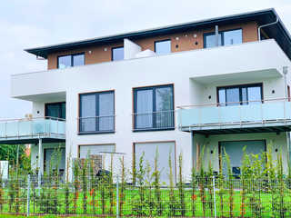 Luxus-SPA-OG-Fewo DREAMTIME (WE 3) Gartenansicht des Hauses