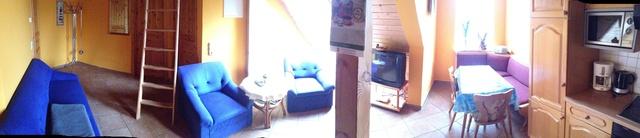 Wohnzimmer Fewo Seeadler