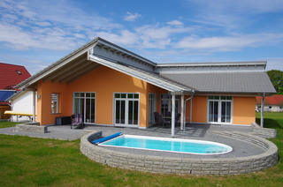 Ferienhaus in Strasen mit Pool, (Mundt, Undine) H2