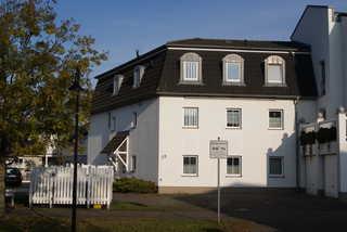 FeWo Priesnitz Blick auf das Haus von der Landseite aus.