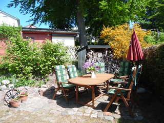 Ferienhaus Ostseeflüstern Terrasse