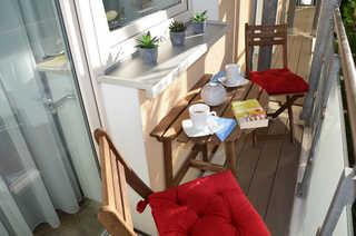 Baabe Ferienwohnung Sonnenwind Ref. 194470 Balkon
