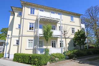 H: Villa Strandmuschel Whg. 03 mit Südbalkon Objektansicht