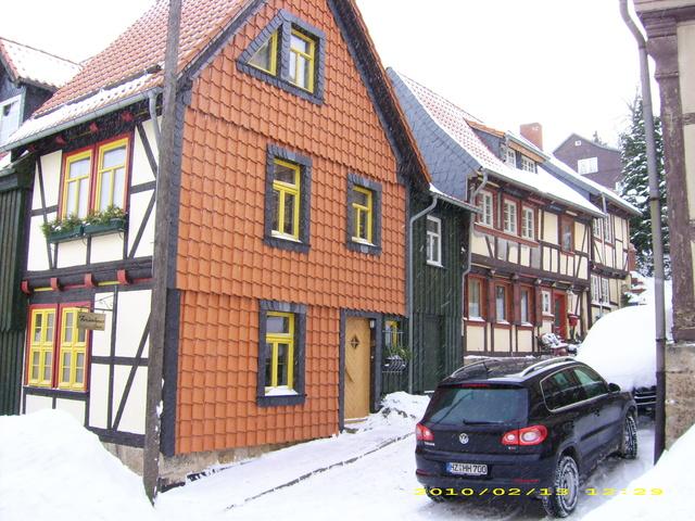 """FH II """"Großes Haus"""" im Winter"""