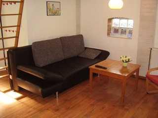 Ferienwohnung in Dornumersiel 800-148b Wohnbereich