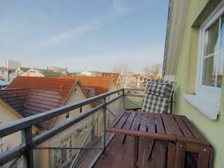 Möwenblick Fewo Ramm Balkon
