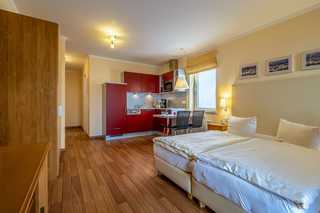 Hafendomicil Appartement WH11 - Eichhörnchen gemütliches Ein- Zimmer- Appartement mit Küchen...