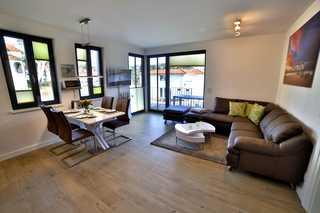 Lachmöwe Wohnraum mit Meerblick