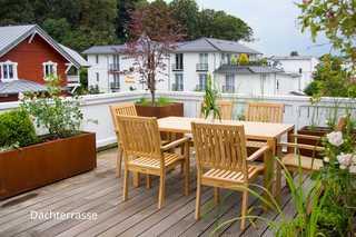 Villa Hansa Ferienwohnung 7 hochwertig möblierte Dachterrasse