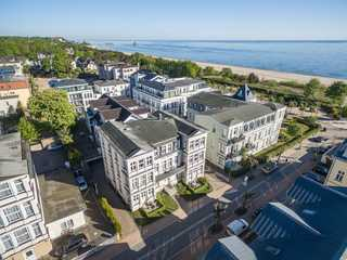 Villa Ahlbeck Haus 2 Luftaufnahme