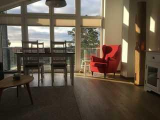 Stella Maris Wohnbereich mit angrenzendem Balkon