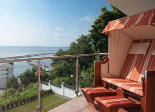 Villa Friede-Marie - App. Meeresidyll Panoramablick auf die Ostsee