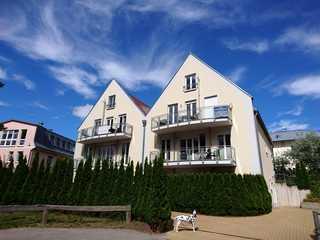 Trassenheide Strandstr. 21 Fewo 05 Strandperle Wohnung mit Balkon rechts oben