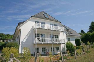 MI: Haus Südstrand Whg. 06 mit Balkon und Meerblick Außenansicht