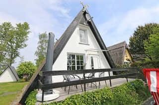 OS: Finnhaus Nr. 05 mit Terrasse Außenansicht