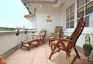 Haus Meeresblick FeWo Ostseekiesel A 3.04 Ref. 128712 Terrasse FeWo Ostseekiesel
