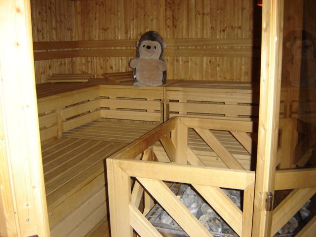 Sauna im Sauerthaler Hof