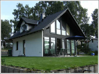 Ferienhaus Heidenholz Hausansicht
