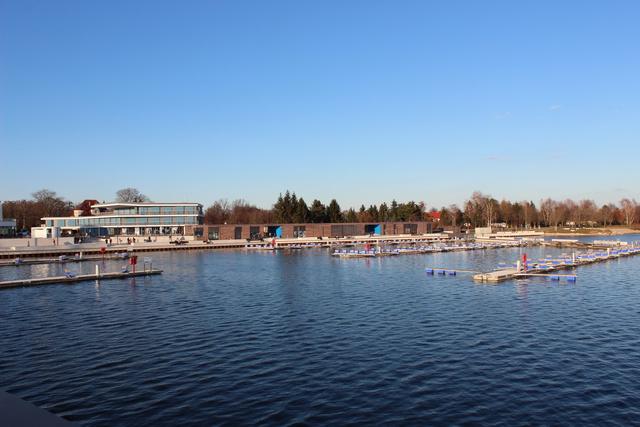 Stadthafen Senftenberg im März 2014