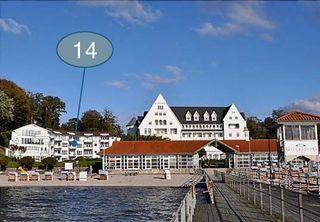Ostseewohnung Nr. 14 - Villa Mare - - SORGENFREI BUCHEN* Ostseeferienwohnung Villa Mare Nr. 14