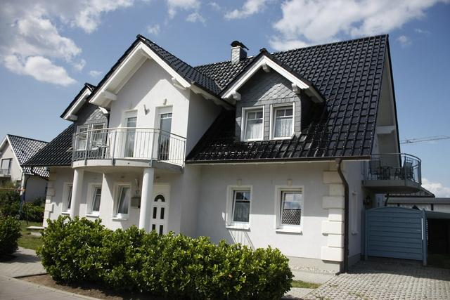 Vorderansicht Apartmenthaus Rosenweg 17