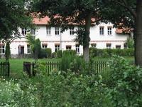Bahlberg Wohnung vom Garten gesehen