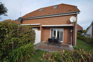 Nr. 25 - Ferienhaus Bootsweg Garten / Terrasse