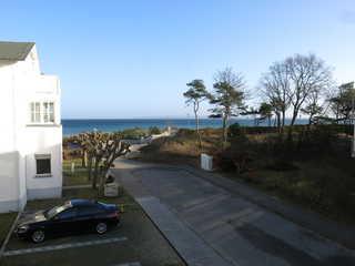 Schwalbennest - am Ostseestrand! Ausblick vom Balkon