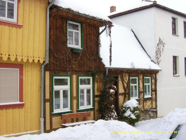 """""""Kleines Haus"""" im Winter"""