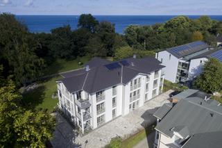MZ: Villa Pauline Whg. 01 mit Balkon Außenansicht