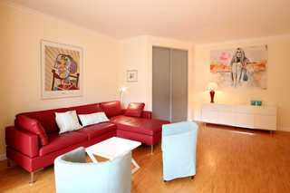 Ferienwohnung 40RB34, Villa Stranddistel Wohnen