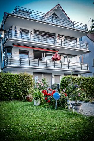 Haus Seeblick - Blick vom Garten