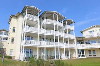 MI: Haus Having Wohnung Nr. 36 mit Balkon und Meerblick Außenansicht