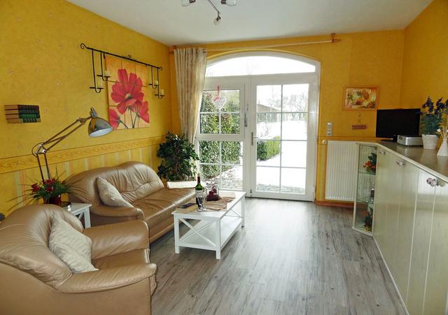 Wohnung mit 50 qm im Erdgeschoss