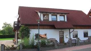 Ferienwohnung Landsbergblick Hausansicht